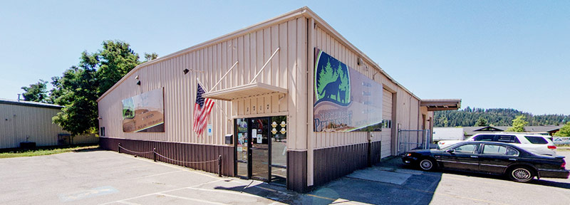 Northwest Pet Resort Facility Exterior