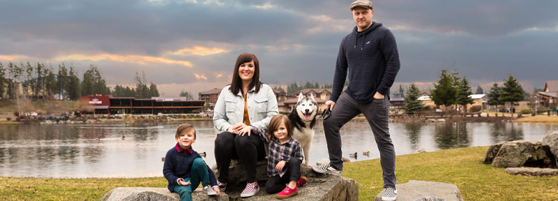The Ansel Family Owners of Northwest Pet Resort Coeur d'Alene